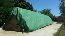 Agrotextil protectie paie 9.8*12.5 m