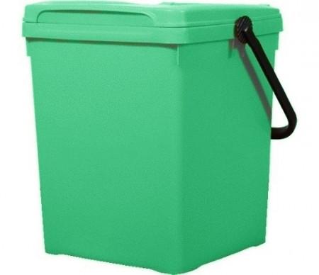 Cos de gunoi pentru birou 40 l, verde