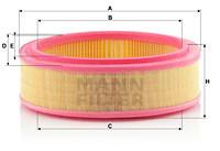 FILTRU AER LOG./SAND. 1.4./1.6 C 2672/1