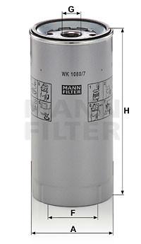 FILTRU COMBUSTIBIL WK 1080/7 x