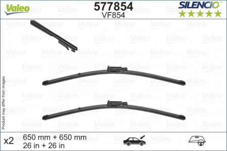 SET STERGATOARE VALEO SILENCIO X.TRM 650/650 MM VF854