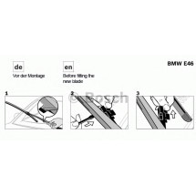SET STERGATOARE AEROTWIN RETROFIT 550/475 MM