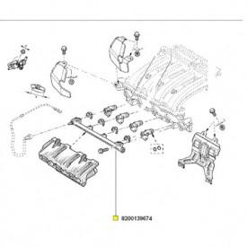 RAMPA CARBURANT LOGAN / SANDERO / DUSTER 1.6 16V