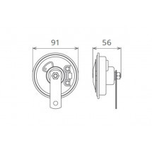 SET CLAXOANE ELECTROMAGNETICE 12V 5A+5A TON INALT SI JOS 50F01200K