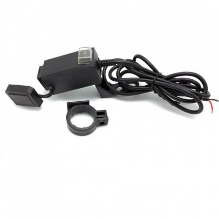 Incarcator de telefon moto cu 2 prize USB