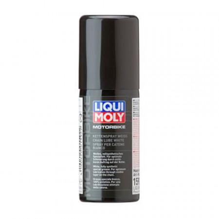 Spray de lant moto alb Liqui Moly Motorbike, 50 ml