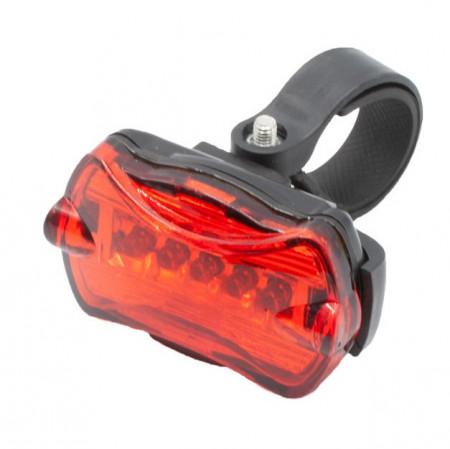 Lampa stop bicicleta cu 5 LED-uri