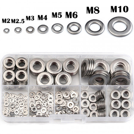 Set 400 bucati saibe otel inox M2-M10