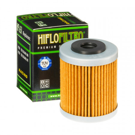 Filtru de ulei HIFLOFILTRO HF651