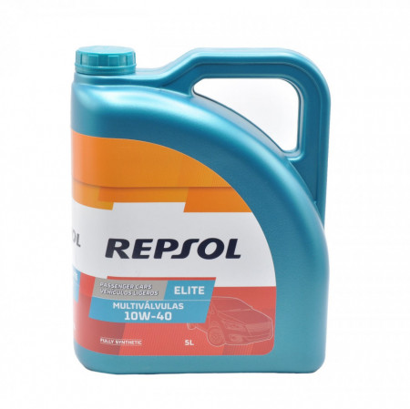 Ulei motor auto Repsol Elite Multivalvulas 10W40 5L