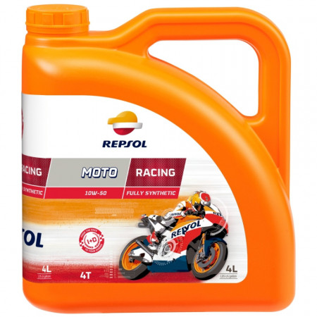 Ulei motor Repsol Moto Racing 4T, 10W50, 4L