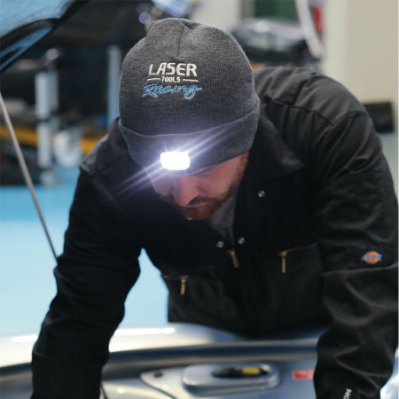 Fes LASER TOOLS cu lumini fata-spate reincarcabil USB