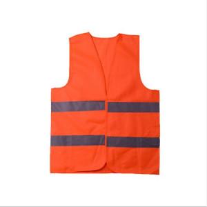 Vesta reflectorizanta, culoare portocalie