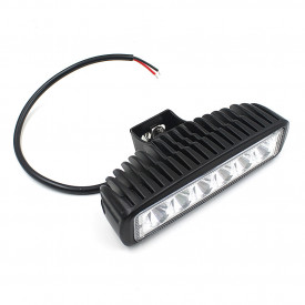 Proiector LED auto 18W, tip off-road 4x4