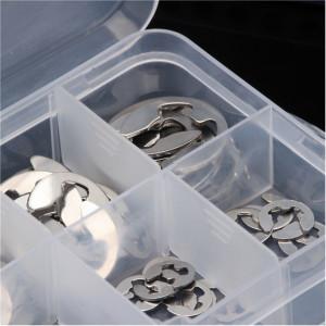 Set 120 buc. inele de siguranta tip E 1,5mm.-10 mm.