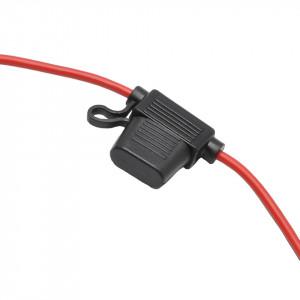 Suport siguranta auto standard, tip ATO, cablu AWG 12