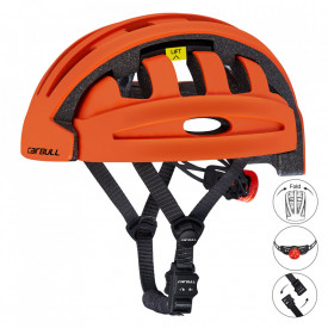 Casca ciclism pliabila cu lumina avertizoare LED spate CAIRBULL FIND 2019