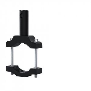 Consola extensie pentru prindere proiectoare moto, GoPro, claxoane, culoare neagra