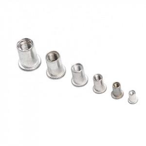 Piulite nit din aluminiu, set 93 bucati, M3-M10
