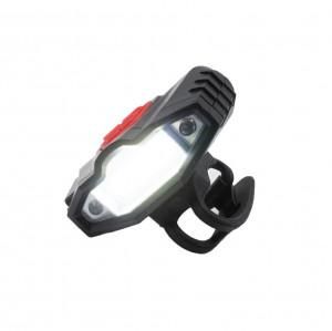 Far bicicleta cu tehnologie COB LED, reincarcabil USB