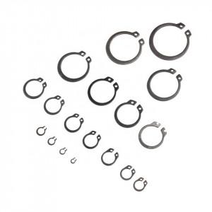Set 300 buc. inele de siguranta tip C M3-M32, 18 dimensiuni