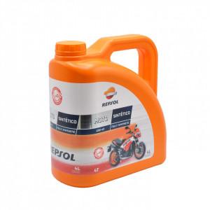 Ulei motor full sintetic Repsol Moto Sintetico 4T 10W-40, 4 litri