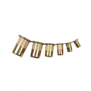Piulite nit din otel zincat, set 150 bucati, M3-M10