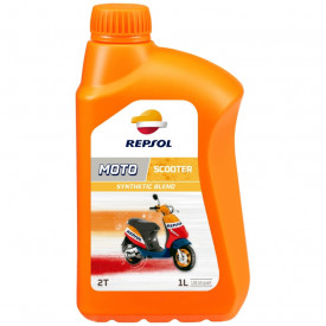 Ulei full sintetic Repsol Moto Sintetico 2T 1L