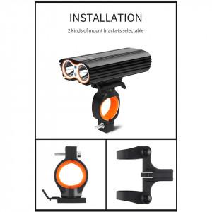 Far bicicleta LED, 2400 Lumeni, reincarcabil USB