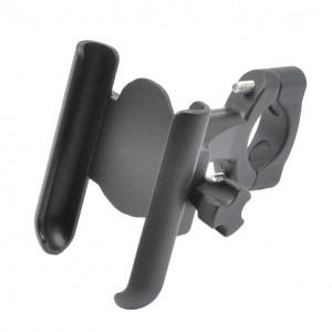 Suport metalic de telefon moto, cu prindere pe ghidon