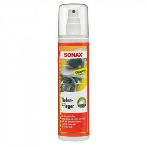 Spray pentru intretinerea si protejarea suprafetelor din plastic si cauciuc, cu efect lucios, SONAX 300 ml