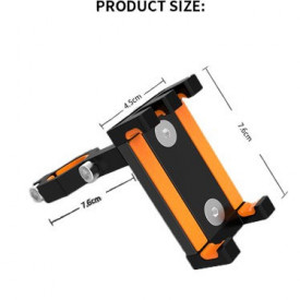 Suport metalic de telefon pt.motocicleta/scuter/bicicleta/trotineta electrica D