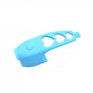 Claxon electronic de bicicleta, 120 Db, culoare albastra