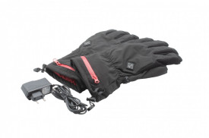 Manusi incalzite pentru ski sau moto, cu acumulatori reincarcabili