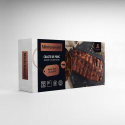 Coaste de porc glazurate cu sos dulce-picant