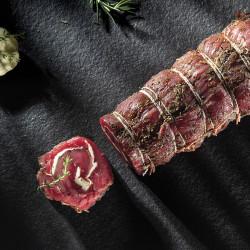 Mușchi mânzat cu unt și ierburi de Provence