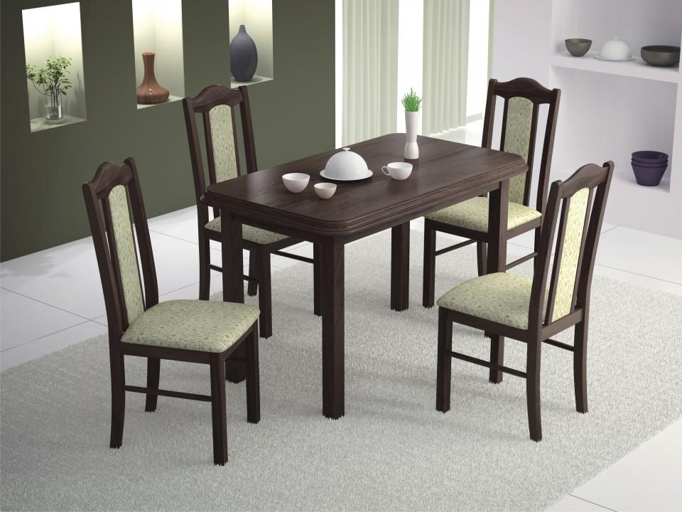 London étkező garnitúra, Pianó asztal + 4 db London szék