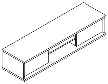 Bling B 8 TV állvány - elem a Bling bútorcsaládból