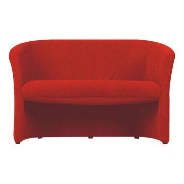 CUBA dupla fotel piros színben