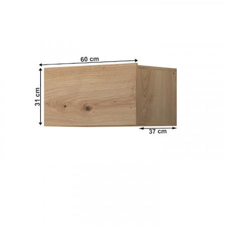 SPRING ED60 - Faliszekrény, tölgy artisan