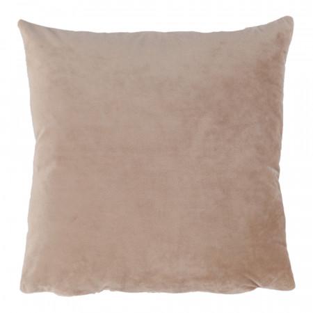 ALITA TYP 9 - Párna, bársony anyag bézs, 45x45