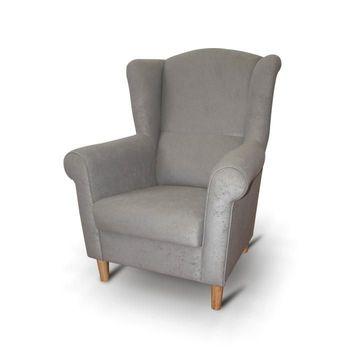 CHARLOT fotel szürke színben