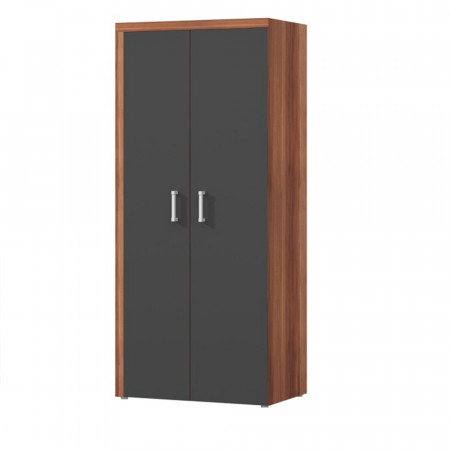 CHERIS 1 - Akasztós szekrény, szilva/szürke grafit