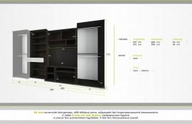 Golden szekrénysor 360 cm
