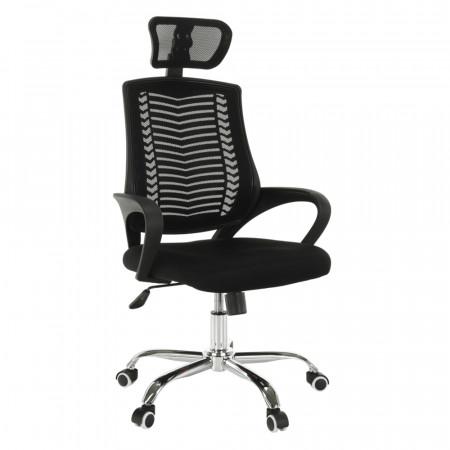 IMELA TYP 1 - Irodai szék, fekete