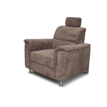 SANTIAGO fotel barna színben