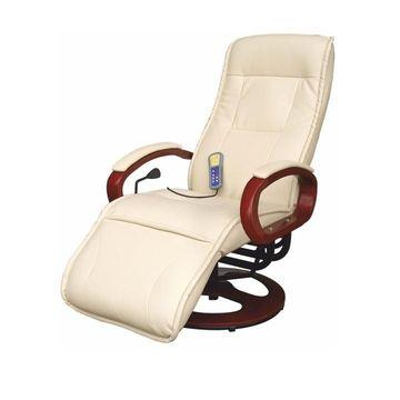 ARTUS mechanikusan állítható pihenő fotel krém színben
