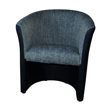 CUBA fotel fekete - szürke színben