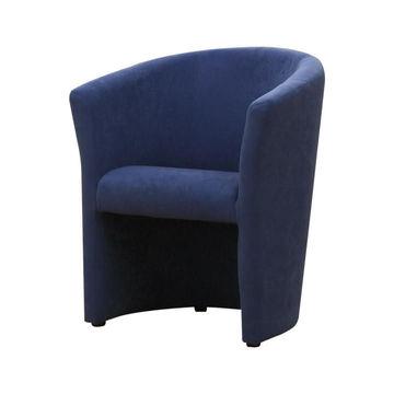 CUBA fotel kék színben