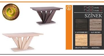 Dorka asztal 130 cm Canterbury